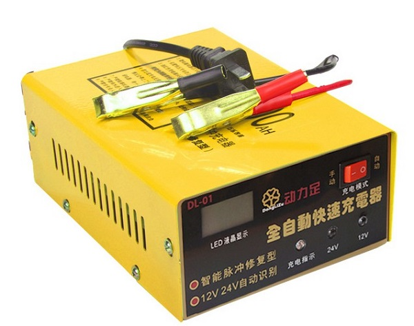 HOT Fully-Automatic Intelligent Car Battery Charger Charge Repair Machine 12v 24v Automatic 100ah New High Quality Free shipping(China (Mainland))