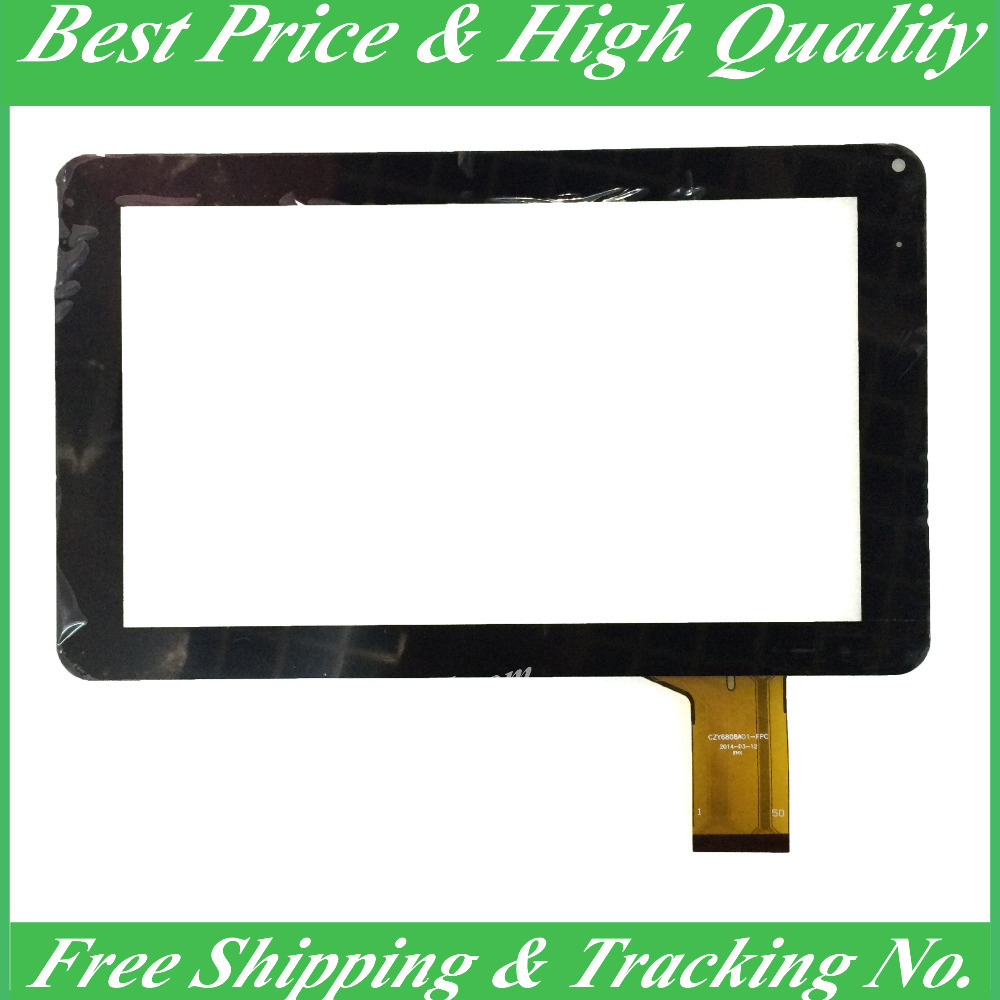 5PCS/LOT 9inch New CZY6808A01-FPC Tablet PC Multi-Touch Screen Digitizer Capacitive Screen Outer Glass Touch Screen Repair<br><br>Aliexpress