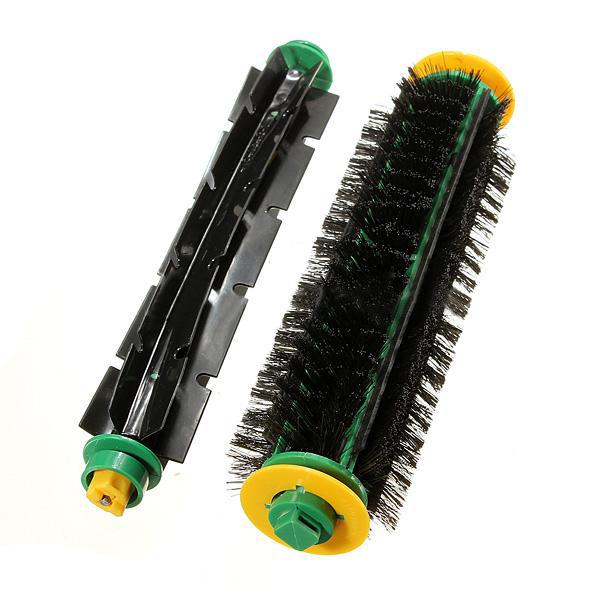 GSFY Wholesale Bristle Brush + Flexible Beater Brush For iRobot Roomba Clean(China (Mainland))