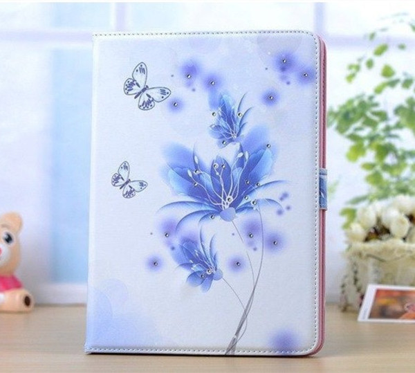 Magnetic Smart cover case For Apple iPad 2 ipad 3 ipad 4 cases Stand cute girl Leather Case Smart Cover Case +film<br><br>Aliexpress