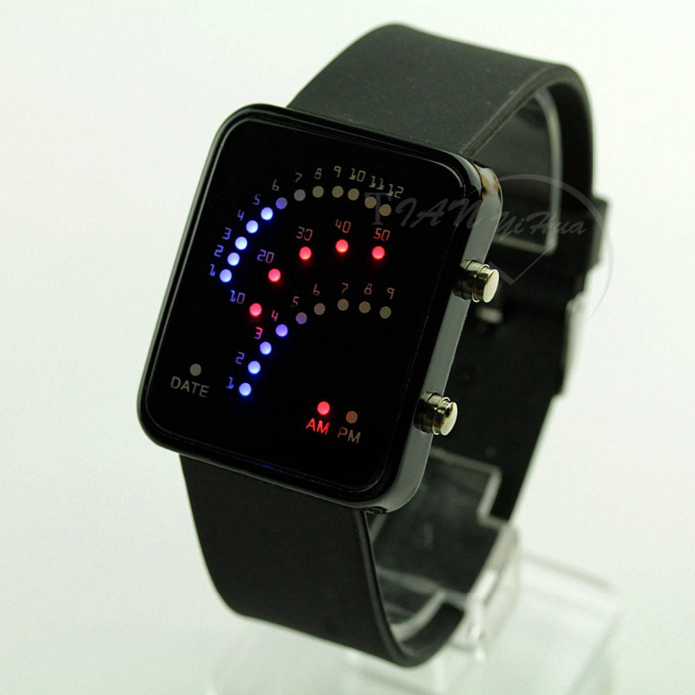 2014 new Led watches Digital display leather Fashion & Casual Unisex Men Women lovers' lava watch TYH0429 - skmei factory store