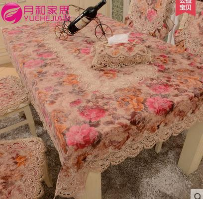 product tabel cloth toalha de mesa para festa European style lace embroidery tablecloth table polyester tablecloths