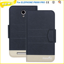 2016 Super! ELEPHONE P6000 PRO Cases, 5 Colors Factory Direct High quality Luxury Ultra-thin Leather Case for ELEPHONE P6000 PRO