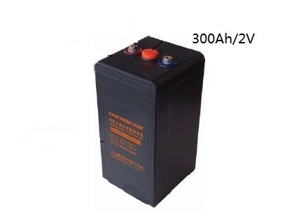 300Ah/2v solar battery, free maintenance deep cycle AGM battery for off grid solar power systems, UPS etc(China (Mainland))