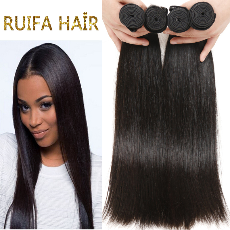 6A Brazilian virgin hair straight 4bundles brazilian straight hair 8