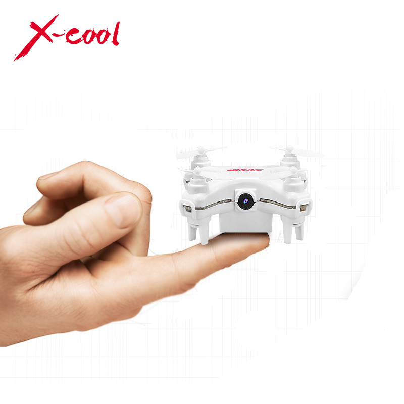 Original MJX X905C White 4CH 6-Axis Gyro RTF Mini RC Quadcopter UFO Helicopter Drone with 0.3MP Camera Remote Control Led Lights(China (Mainland))