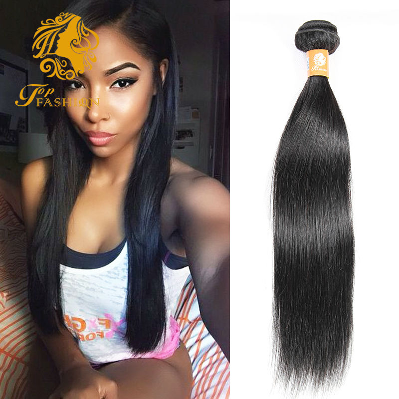 Rosa Hair Products Brazilian Virgin Hair Straight 7A Unprocessed Brazilian Hair Weave 1 Bundles Cheap Human Hair 100g Bundles