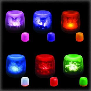Led sound controlled candle projecting lamp electronic candle lamp Nightlight decorative lamp lamp wholesale novelty(China (Mainland))