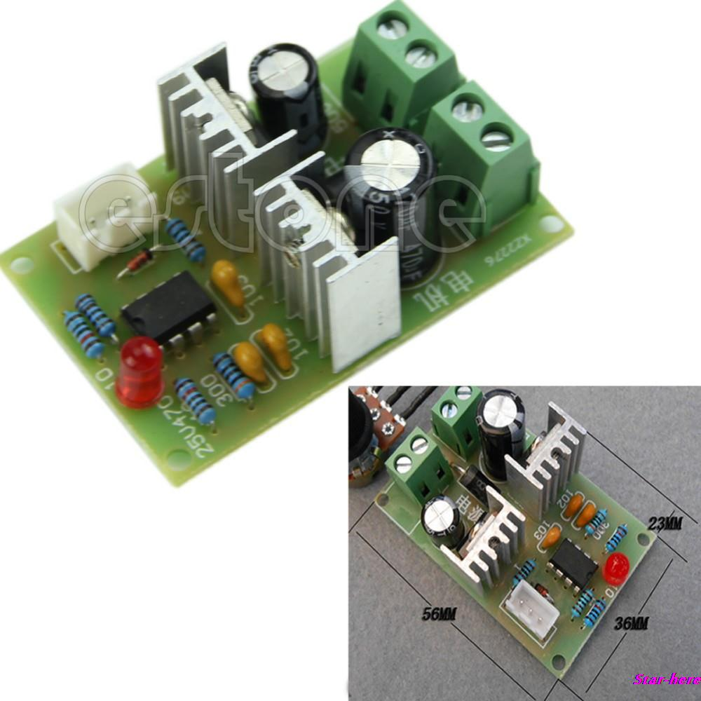 Free Shipping New 3A Pulse Width PWM DC Motor Speed Regulator Controller Switch 12V/24V/36V(China (Mainland))