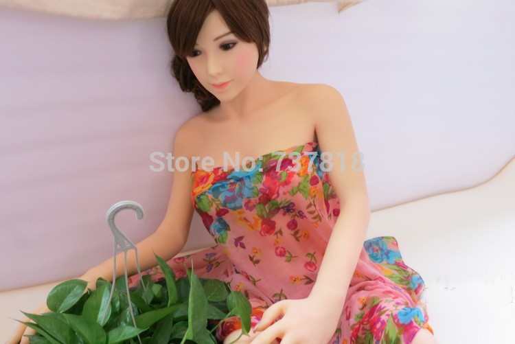 sex girl 158cm male silicone sex doll for men,sex dolls japanese life size silicone love doll(China (Mainland))