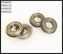 Buy 10pcs/Lot F6900ZZ F6900 ZZ 10x22x6mm Flange Thin Wall Deep Groove Ball Bearing Brand New for $6.65 in AliExpress store