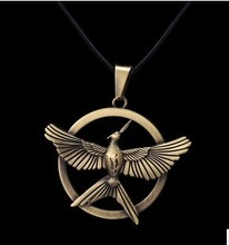 Hot Movie Hunger Games Necklace America and Europe Popular Pendant Necklace Christmas Gifts(China (Mainland))