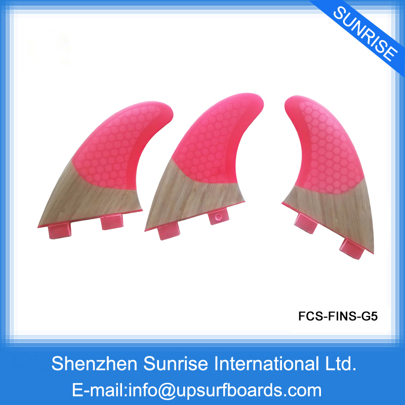 Quilhas fcs Surfboard Fin/FCS Fins/ Free Shipping Bamboo Base Fins On Sale(China (Mainland))