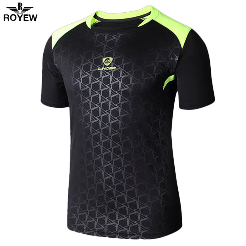 2016 Summer Outdoor Fun Sports Clothing Dry Fit Training American Football Shirt Tops Running T-Shirt Fitness Men Sport T Shirt(China (Mainland))