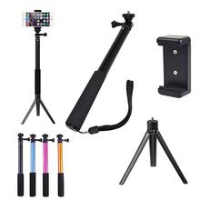 For Gopro Waterproof Selfie Monopod Extendable Handheld Monopod Selfie Stick Monopod for Iphone Samsung IOS Andorid Smartphone