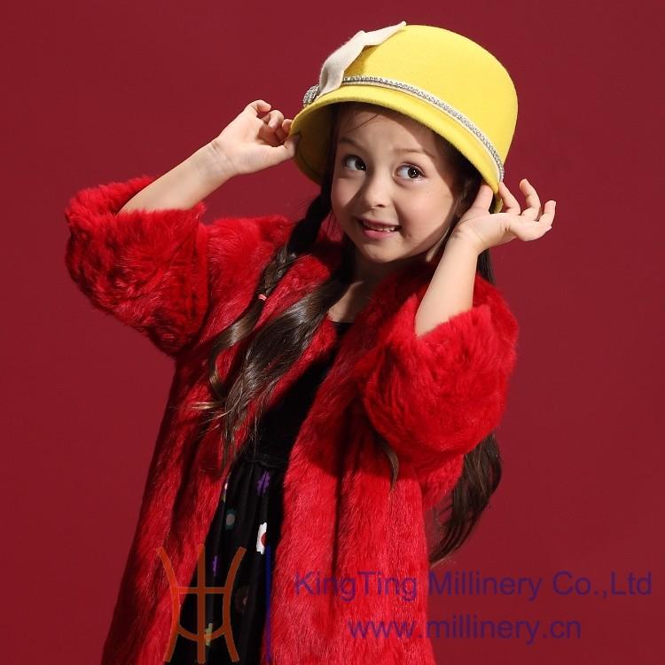 Скидки на Новое поступление девушки женщин шляпа вс 100% шерсть аксессуары для волос сверкающие стразы бисером девочка зимние шапки