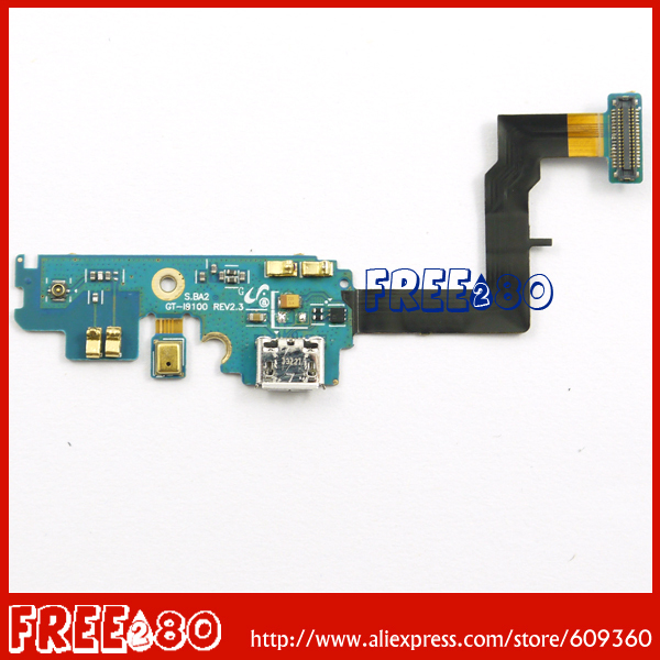 100% tested all in good condition charger charging dock connector port flex cable ribbon for samsung galaxy sii s2 i9100(China (Mainland))