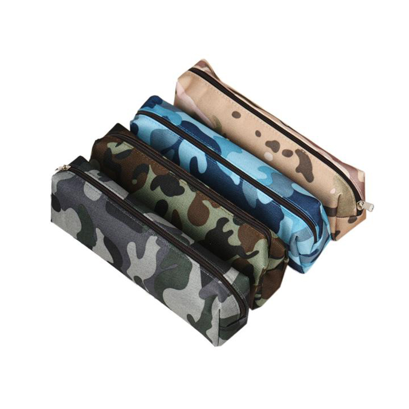 flama Camouflage Pen Bag Pencil Case Pouch Stationery Pouch travel organizer make up cosmetic bags Bolsa Gift Hot Sale 2017(China (Mainland))