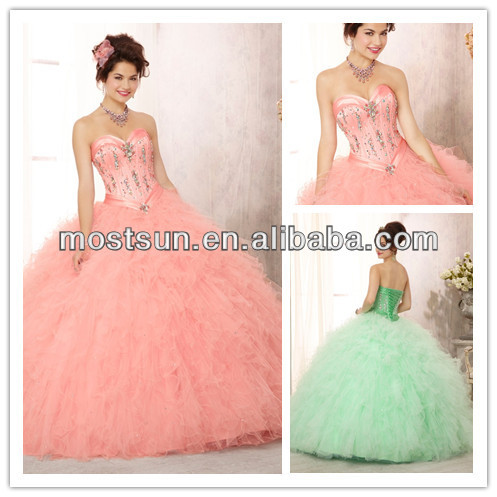Buy q089b most beautiful sweetheart long for Beautiful puffy wedding dresses