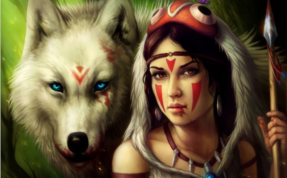 http://g02.a.alicdn.com/kf/HTB1YtGnIFXXXXalXXXXq6xXFXXX0/Princess-Mononoke-girl-Princess-roofs-wolf-Girl-Traditional-Japanese-Anime-Art-POSTER-Wall-Decor-Home-Decor.jpg