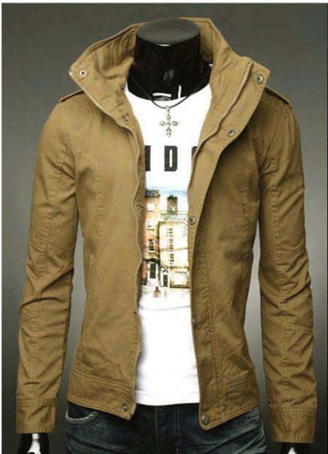 agasalho masculino 2015 Fashion Collar Jackts Men.Korean Casual Sports Coat Men Brand Denim jacket Blusa moleton college element(China (Mainland))