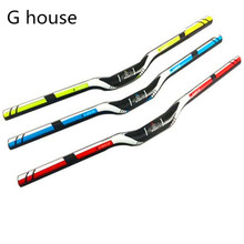 Buy Newest Mountain bike 3K full carbon handlebar flat rise carbon bicycle handlebar MTB bike parts 31.8*600-720mm Free ship for $17.67 in AliExpress store