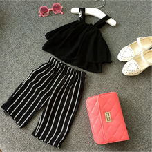 girls elegant clothes set evening party clothes for baby girl tops + long pants ary clothes for kids firls clothes set retail