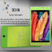 New design 7 Inch leather 3G Phone Call Android4.4 Tablets pc WiFi GPS Bluetooth FM 1GB 8GB Color Phone Mini Pad