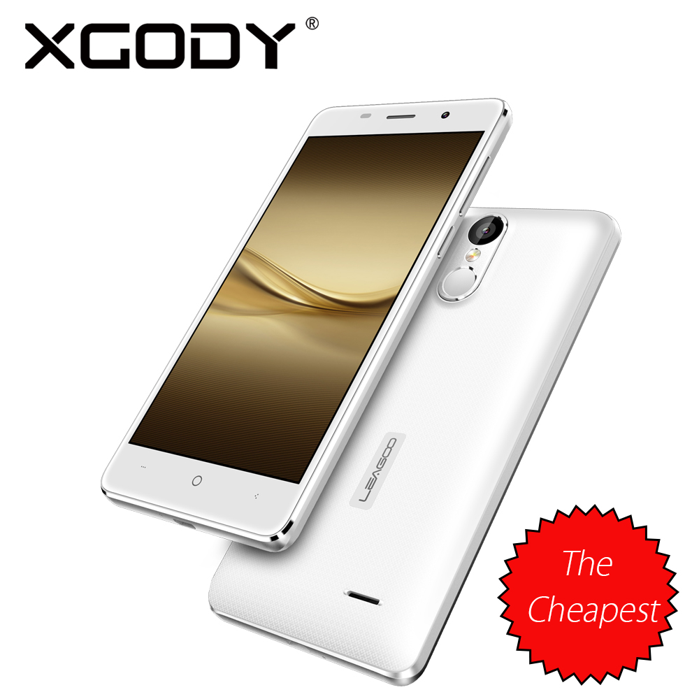 Leagoo Smartphone 5 Inch 2GB RAM 16GB ROM With 8MP Camera Quad Core Fingerprint Android 6.0 3G Shockproof Mobile Phone(China (Mainland))