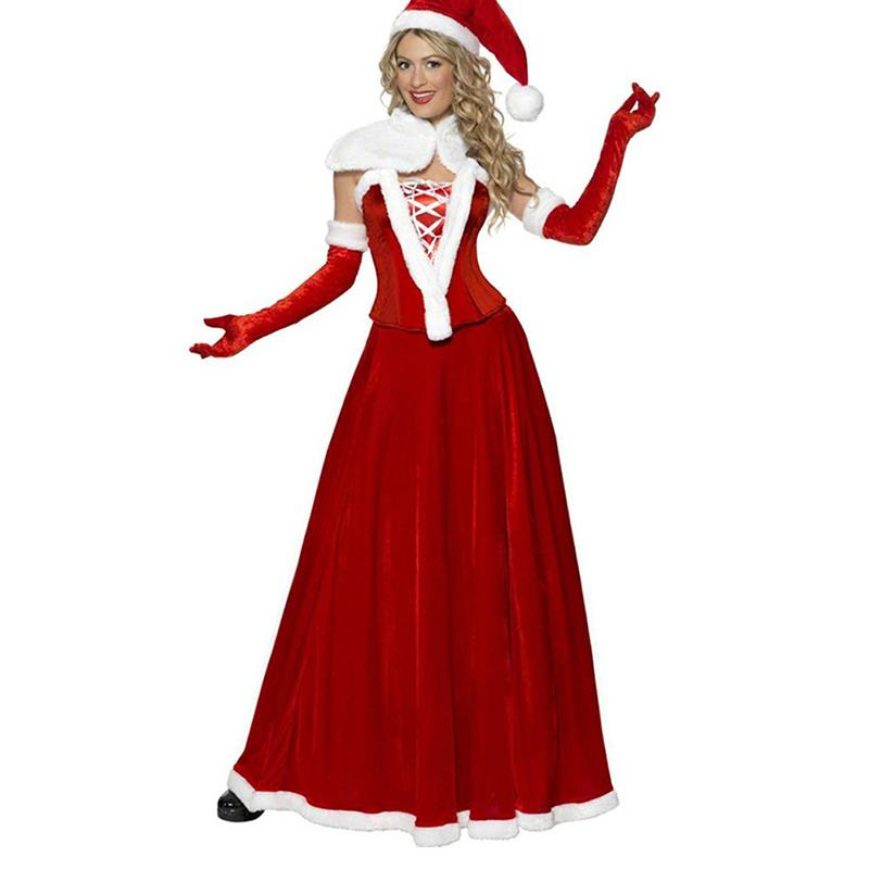 Mrs claus costumes buy cheap mrs claus costumes lots from china mrs