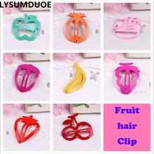 Buy LYSUMDUOE Imitative Hello Kitty Fruit Hair Accessories Boutique Barrette Cherry Banana Hairpin Clip Girl Cute Headband Clip Gift for $1.55 in AliExpress store