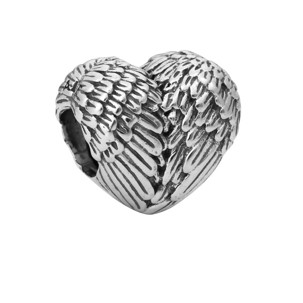 Гаджет  Free Shipping European Silver Bead Charm Wing Beads Fit Women Pandora Bracelets & Bangles yw15774 None Ювелирные изделия и часы