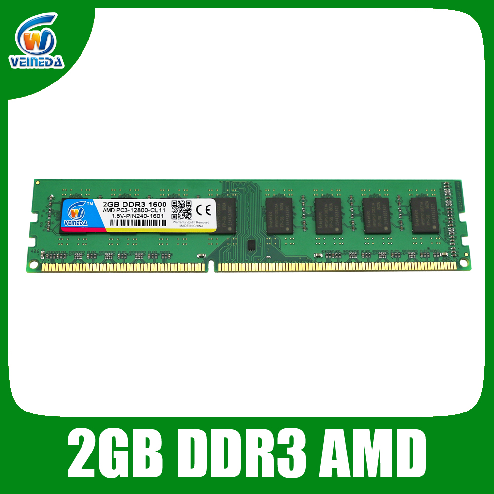 Brand New ddr3 ram Memory ddr3 2gb Compatible Some AMD Desktop For PC3-12800 ddr3 1600 Lifetime Warranty(China (Mainland))