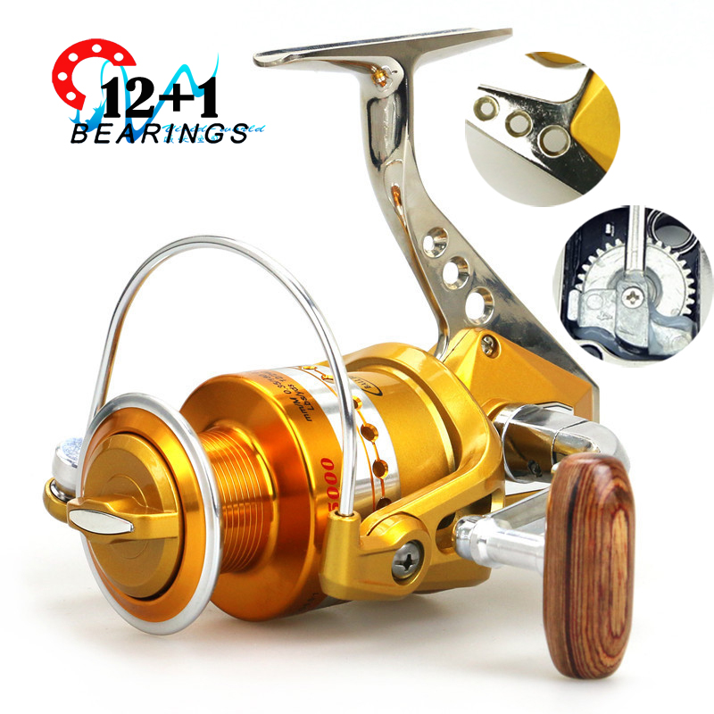 Top quality brand spinning fishing reel metal foot super for Best fishing reel brands