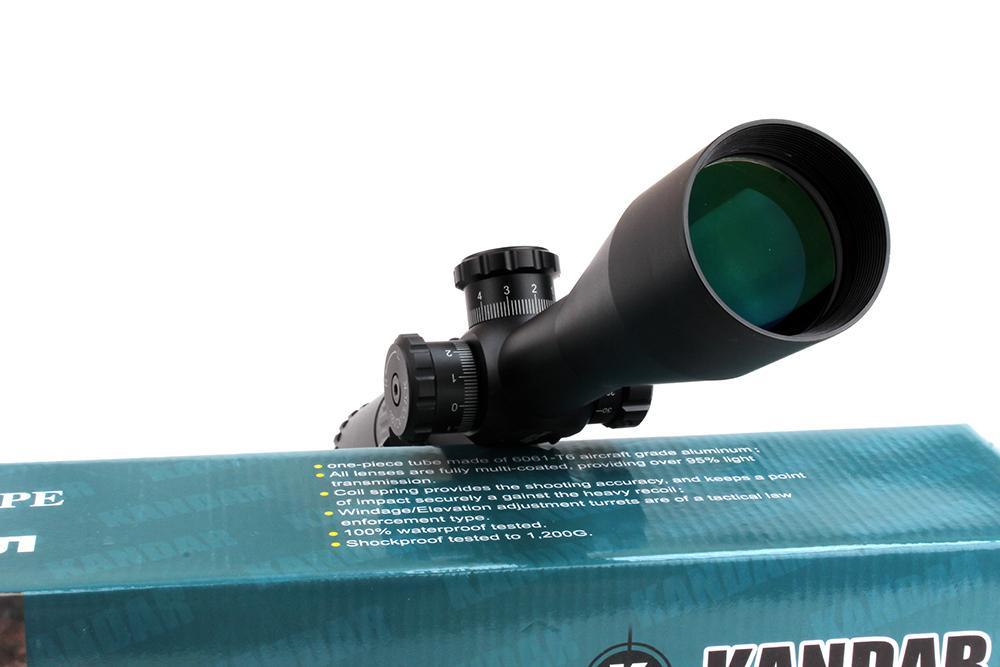 KANDAR Kaspa 3 12X44SFIR ILL Ballistic X Tactical Riflescope Airsoft Air Gun Shooting Hunting Rifle Scope