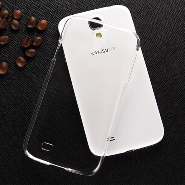 New!!0.3mm Slim Ultra Thin Colorful Transparent phone Case For samsung Galaxy S4 Case i9500 Plastic Clear Back Cover Only$0.69(China (Mainland))