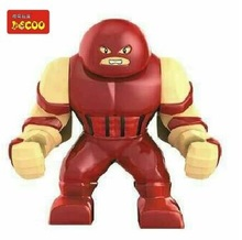 20Pcs Decool 0191 Building Blocks Super Heroes Avengers Minifigures Big Juggernaut Figures Bricks Toys Compatible With Lego