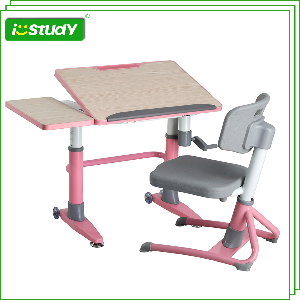 Home furniture ergonomic kids table and chairs adjustable HYA106 Desk(China (Mainland))