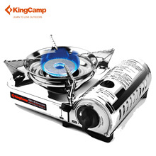 Buy KingCamp Outdoor Stove Camping Gas Stove Hiking Trekking Cooking Portable Windproof Camping Stove for $61.48 in AliExpress store