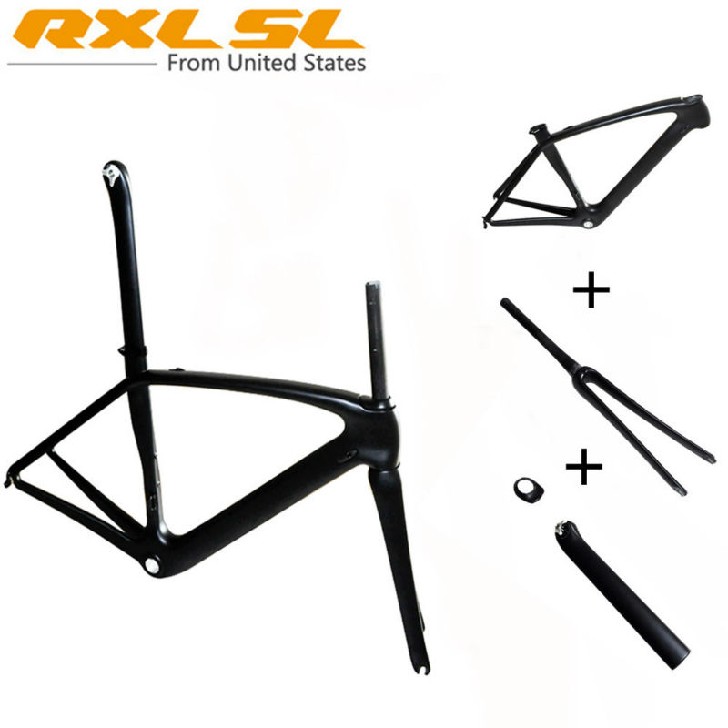 Carbon Frame Road Bike Frames Road Bicycle Frame Carbon accessories RXL SL Breaking Wind 1K/3k/UD Gloss/Matte BSA68 No Logo RX7(China (Mainland))