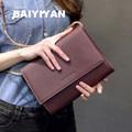New Metal Chains Women Leather Handbags Designers Handbag High Quality Ladies Envelope Bags Women s Messenger