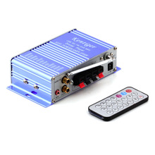 12V HiFi Super Bass Stereo Audio Car Amplifier/ Auto Sound Enlarger car auto amplifiers Hot Worldwide(China (Mainland))