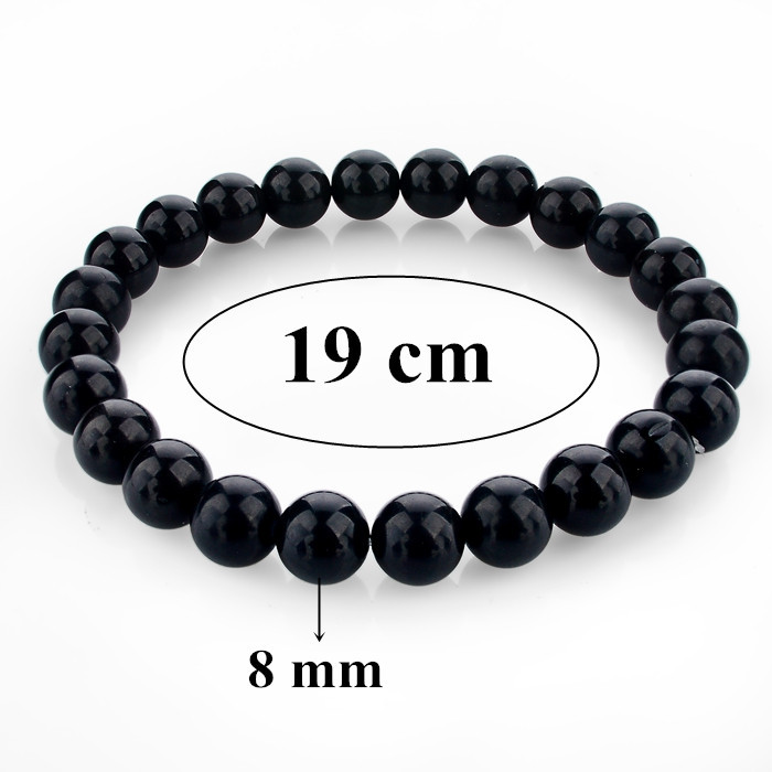 Lava Stone Bracelets Bangles For Women and Men Elastic Rope Natural Stone Strand Bracelets For Unisex