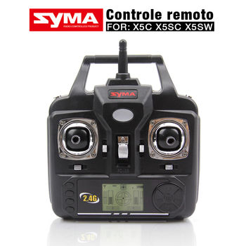NEW Version SYMA Transmitter Remote Control For SYMA X5C X5 X5SC X5SW-1 V6 Version RC Helicopter Quadcopter Drone Parts