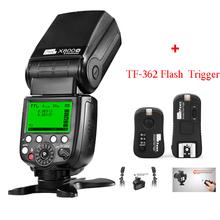 Buy Pixel X800N GN60 Wireless ITTL HSS Radio Flash Speedlite Nikon d3100 d7100 d90 d5300 + Pixel TF-362 Flash Trigger for $115.02 in AliExpress store