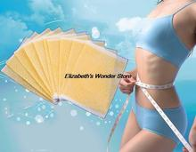 10pcs Lose weight Navel Paste Slim Patch Sheet Health Slimming Diet Burning Fat Patch body massager health care