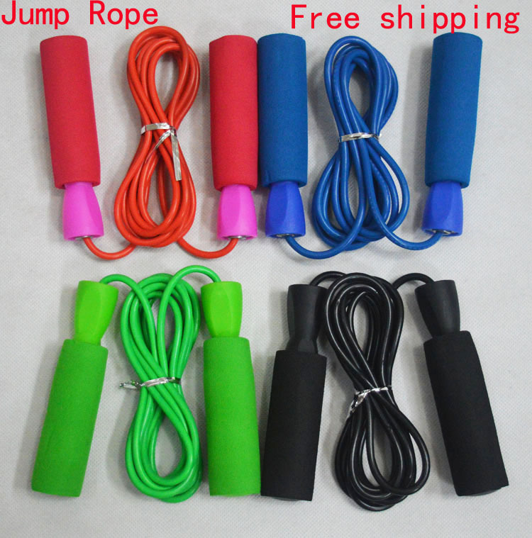 NEW PVC 3M Body building Equipment Jumping rope fitness Crossfit exercise skipping Speed Jump rope(China (Mainland))