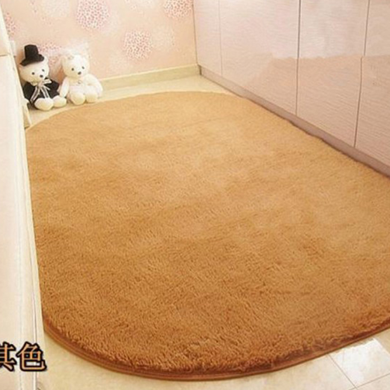 2015 Hot Sale High Quality Modern Shaggy Oval Rugs And