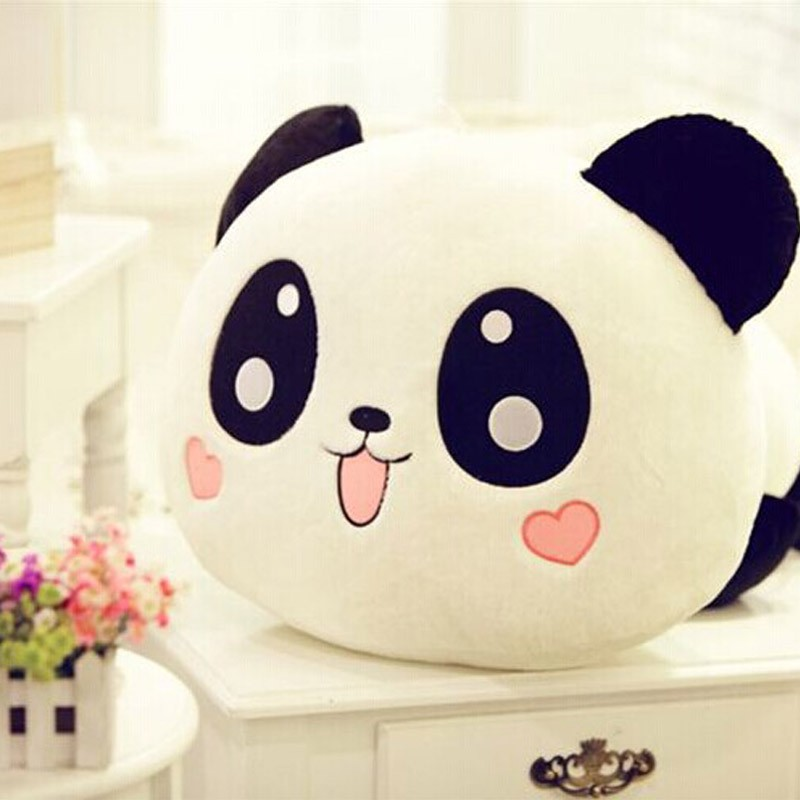 "NEW Cute Plush Doll Toy Stuffed Animal Panda Pillow Quality Bolster Gift 20cm 8""(China (Mainland))"