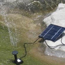 Hochwertige solar- angetriebene pumpe bürstenlose dc-solar macht brunnen Pool wasserpumpe Gartenpflanzen Bewässerung kit(China (Mainland))